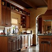 Camden Cherry Fox Kitchen Cabinets