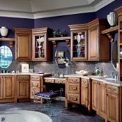 Camden Maple Coffee Glaze Bathroom Cabinets