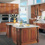 Camden Maple Brierwood Kitchen Cabinets