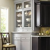 Corina Maple Graphite Kitchen Cabinets