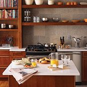 Cottage Cherry Brierwood Kitchen Cabinets