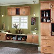 Cottage Maple Cider & Cottage Cherry Cinnamon Bathroom Cabinets