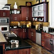 Eden Cherry Cinnamon Kitchen Cabinets