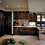 Eden Cherry Chocolate Kitchen Cabinets