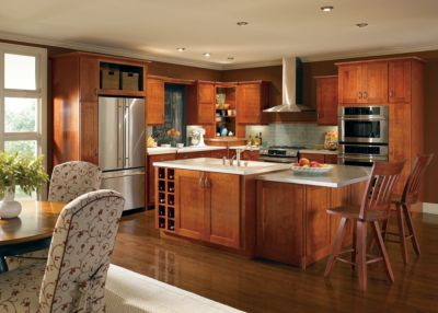 eden maple brierwood by thomasville cabinetry