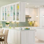 Eden Maple White Paint Kitchen Cabinets