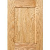 Oak Recessed Panel Square Cabinet Door