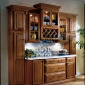 Hillcrest Oak Brierwood Kitchen Cabinets