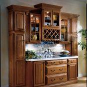Hillcrest Oak Brierwood Kitchen Cabinets