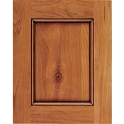 Rustic Alder Recessed Panel Square