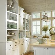 Kenston PureStyle™ Laminte White Kitchen Cabinets