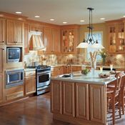 Langston Cherry Natural Kitchen Cabinets