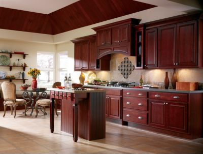 Langston Maple Cranberry By Thomasville Cabinetry