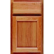 Cherry Recessed Panel Square Cabinet Door