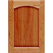 Cherry Recessed Panel Arch Cabinet Door
