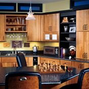 Blythe Cherry Light & Black Other Cabinets