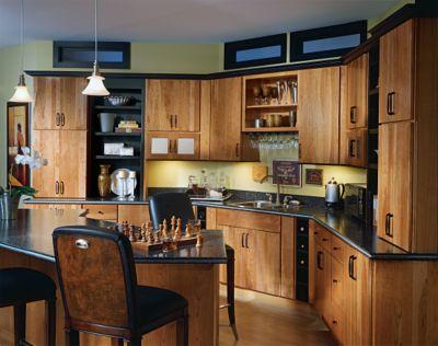 Blythe Cherry Light Amp Black By Thomasville Cabinetry