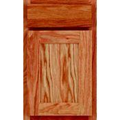 Oak Recessed Panel Square Cabinet Door