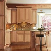 Newsom Maple Camel Kitchen Cabinets