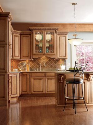 Plaza Maple Palomino Glaze by Thomasville Cabinetry
