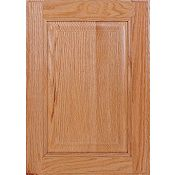 Oak Raised Panel Square