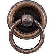 Garner Ring Pull in Vintage Brass