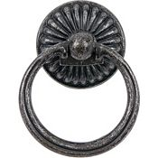 Belmont Ring Pull in Pewter