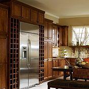 Soren Hickory Clove Kitchen Cabinets