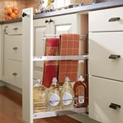 Base Pantry Pullout with Towel Rack