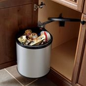 Base Sink with Round Waste Bin