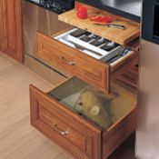 3 Drawer Base with Bread Board