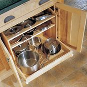 Pots & Pans Organizer Base with Drawer