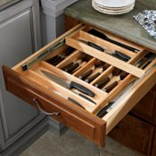Tiered Cutlery Divider (Wood)