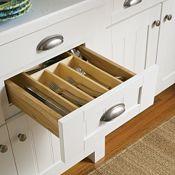 Cutlery Insert Organizer (Wood)