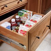3-Drawer Base with Deep Drawer