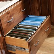 Desk Double File Drawer Base