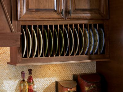 Plate Rack Thomasville Cabinetry : plate holders for cabinets - pezcame.com