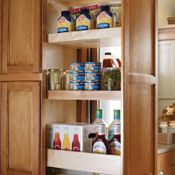Pantry Top Unit with Pullout