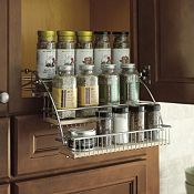 Wall Spice Pull Down Rack