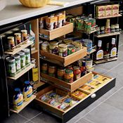 SuperCabinet™ with Toekick Drawer