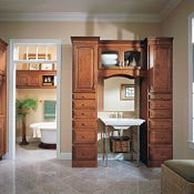 Villa Cherry Arch Brierwood Bathroom Cabinets