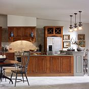 Villa Maple Clove & Baltic Bay Kitchen Cabinets
