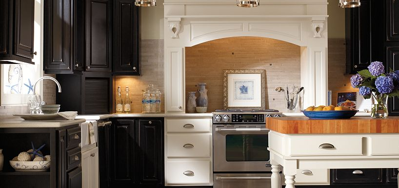 Thomasville Kitchen Cabinets in Cherry, Maple & Oak Cabinets ...