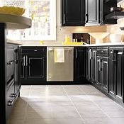 Villa Maple Heirloom Black Paint Kitchen Cabinets