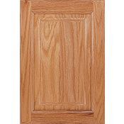 Oak Raised Panel Square Cabinet Door