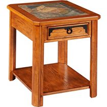 Quail Valley Drawer End Table