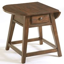 Attic Heirlooms Splay Leg End Table