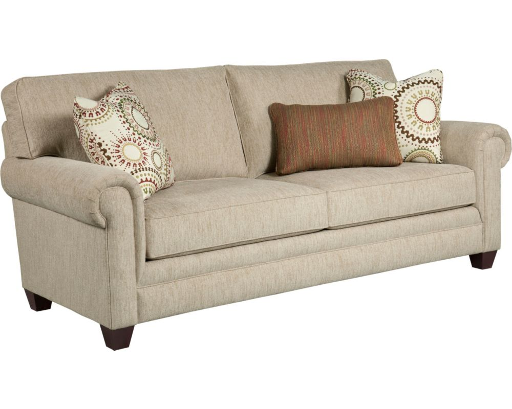 Monica sofa sleeper queen broyhill for Broyhill furniture