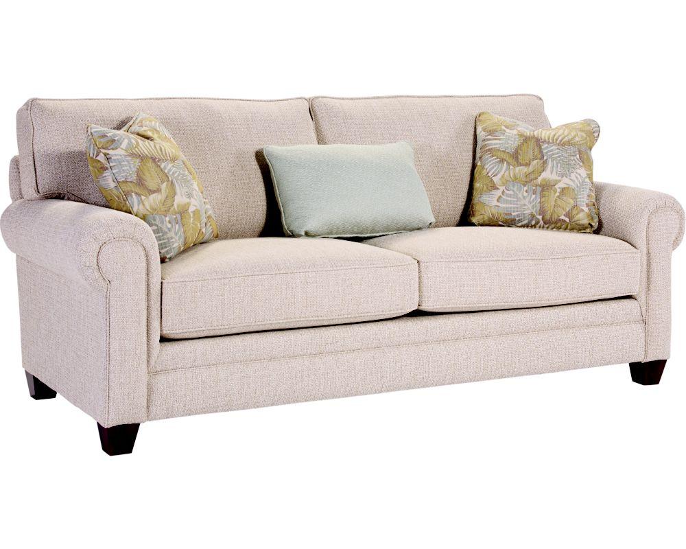 Monica Sofa Sleeper Queen Broyhill Broyhill Furniture - Broyhill zachary sofa
