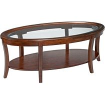 Dorchester Oval Cocktail Table